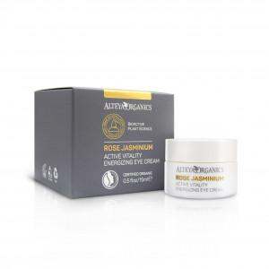Alteya Organics | Active Vitality Energizing Eye Cream - Rose Jasminium