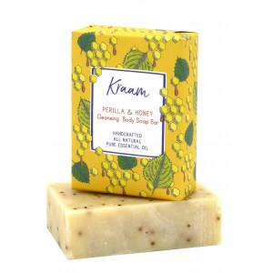 KRAAM Perilla & Honey Cleansing  Body Soap Bar