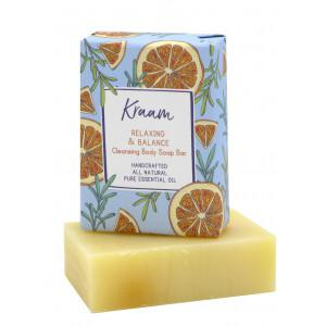 KRAAM Relaxing & Balance Cleansing Body Soap Bar