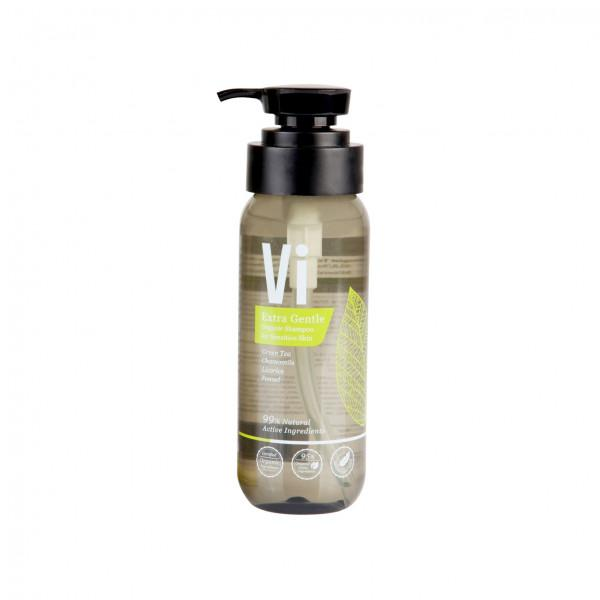 Vi Extra Gentle Organic Shampoo for Sensitive Skin, 250 ml